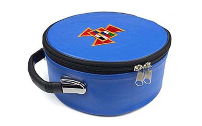 Masonic Regalia Past High Priest PHP Blue Cap Case