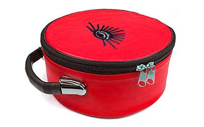 Masonic Regalia All Seeing Eyes Red Cap Case