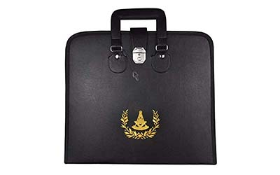Masonic Regalia High Quality Apron File Case