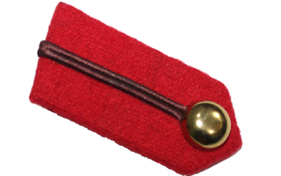 Gorgets Staff Officer Clip