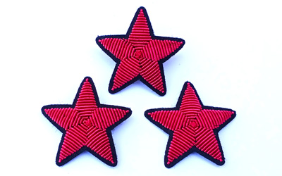 Star Brooch Bullion Wire Supplier