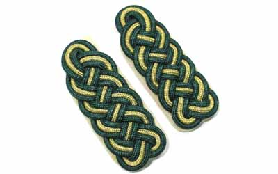 German Officers Major Shoulder Boards