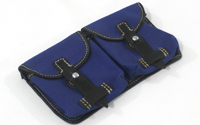 WW1 Canvas Ammunition Pouch Blue