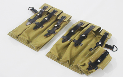 WWII German MP Ammo Pouches