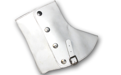 WW1 WW2 Scottish leather Spats White