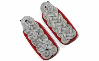 Waffen SS Senior Officer Shoulder Boards