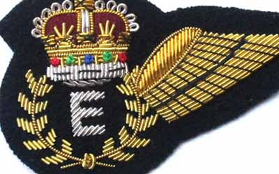 Royal Australian Air Force Engineer Bullion Badge