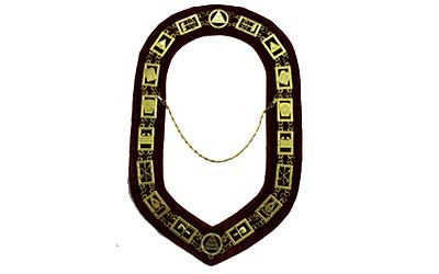 Masonic Royal Arch Chain Collar | Masonic RSM Chain Collar